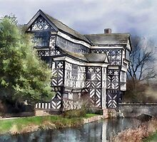 Little Moreton Hall by Elizabeth L Taylor