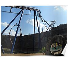 Superman Krypton Coaster, Six Flags Fiesta Texas Poster
