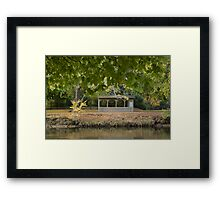 Bells Parade-BBQ time Framed Print