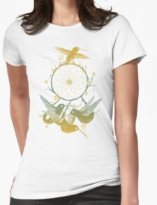 Dreamcatching Womens Fitted T-Shirt
