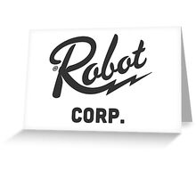 Robot Corporation  Greeting Card