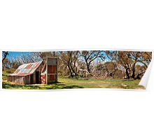Wallace Hut Panorama Poster