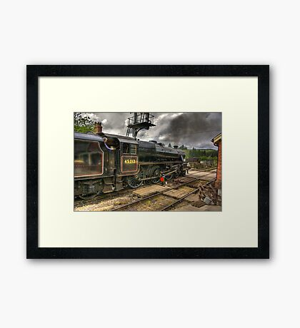 Levisham Crossing Framed Print