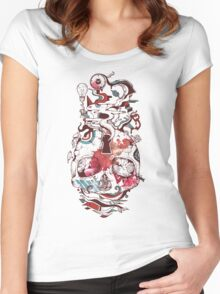 Landscape of an Open Mind Women's Fitted Scoop T-Shirt