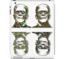 Well Camouflaged Frankenstein iPad Case/Skin