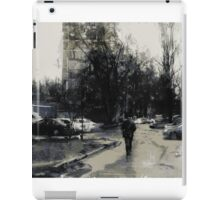 in two steps from home iPad Case/Skin
