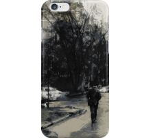 in two steps from home iPhone Case/Skin