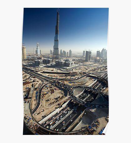 Burj Dubai Poster