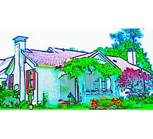 Cottage House in Maryville Photographic Print
