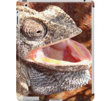 The Laughing Chameleon iPad Case/Skin