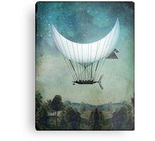 The Moon Ship Metal Print