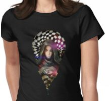 Enigmatrix Droplet Womens Fitted T-Shirt