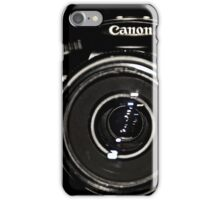Canon Rebel T3 front iPhone Case/Skin