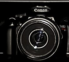 Canon Rebel T3 front by Catherine Melvin