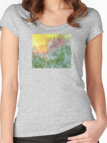 Floral Impressions Women's Fitted Scoop T-Shirt