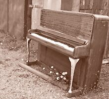 Old piano # 3 by Paola Svensson