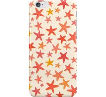 Starfish on beach iPhone Case/Skin