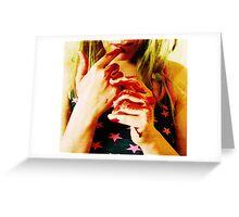 American Woman Greeting Card