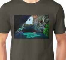 Melissani cave-lake, Kefalonia island Unisex T-Shirt