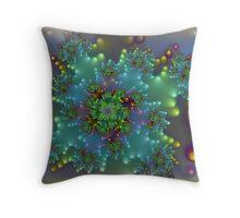 Bubble Corsage Throw Pillow