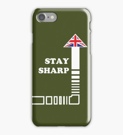 Stay Sharp iPhone Case/Skin