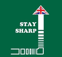Stay Sharp Unisex T-Shirt