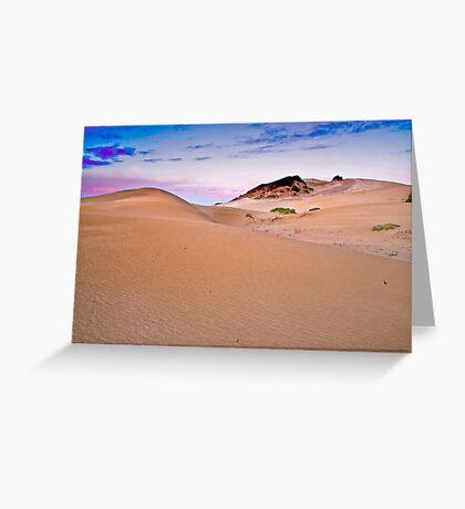 ECO Dunes Greeting Card