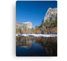 Mirror Lake, Yosemite Valley Canvas Print