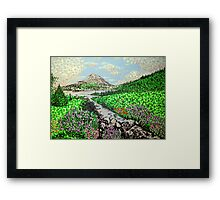 Mount Errigal Framed Print