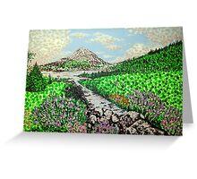 Mount Errigal Greeting Card