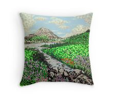 Mount Errigal Throw Pillow