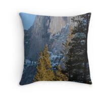 Half Dome, Yosemite Valley Throw Pillow