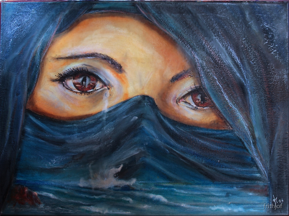 The ocean of tears I by frithjof
