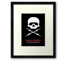 Death Proof Quentin Tarantino Framed Print