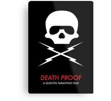 Death Proof Quentin Tarantino Metal Print