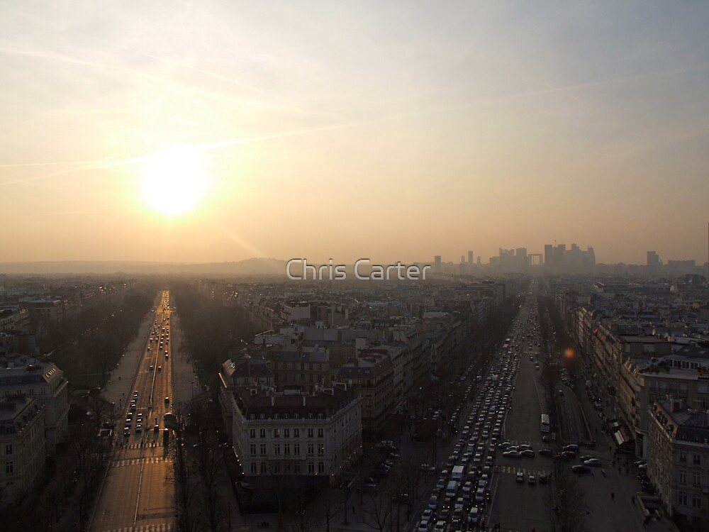 Rush hour in Paris by Chris Carter
