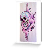 ocho muertos Greeting Card