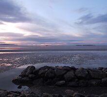West Kirby Cool Sunset Beach-Wirral by kytephotography