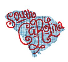 United Shapes of America -South Carolina by ThePencilClub