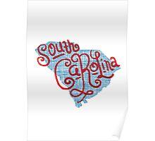United Shapes of America -South Carolina Poster