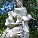 Annie Stewart Fountain: Mermaid, Triton and Porpoise by AuntieJ