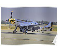 """P-51D """"Kimberly Kaye"""" Poster"""