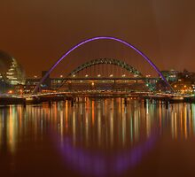 Tyne Bridges by james  thow