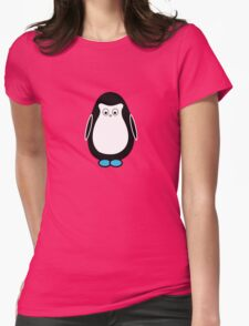 Hugo the penguin Womens Fitted T-Shirt