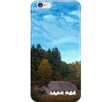 Old farm below the forest | cultural heritage iPhone Case/Skin