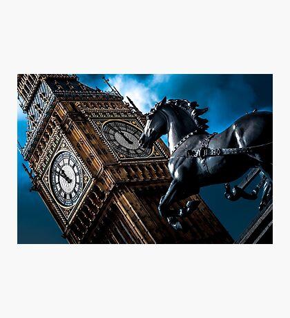 Assertion  @londonlights Photographic Print