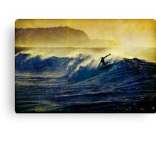 Hang Five Canvas Print