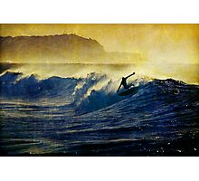 Hang Five Photographic Print