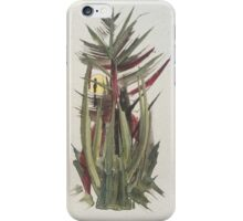 pine tree sun iPhone Case/Skin