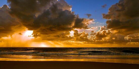 Ocean Sunrise by Tony Steinberg